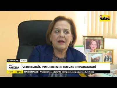 Verificarán inmuebles de cuevas en Paraguarí