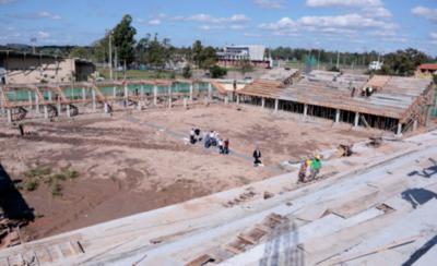 HOY / Obras del estadio para el mundial avanzan a pasos seguros