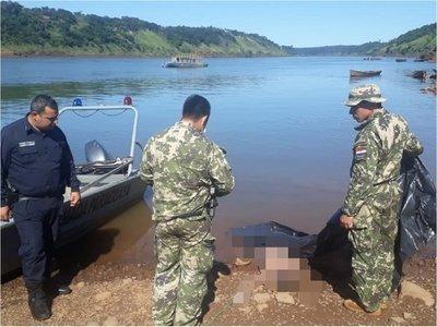 Presidente Franco: Hallan cuerpo de un hombre en el río Paraná