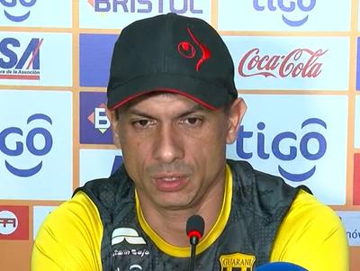 Gustavo Florentín palpitó el duelo contra Olimpia