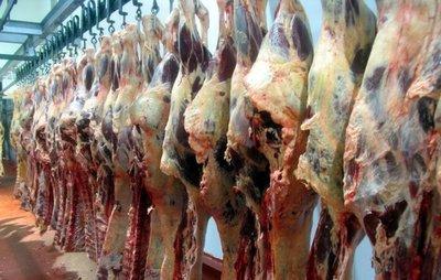 Exportación de carne cayó de nuevo en el mes de abril