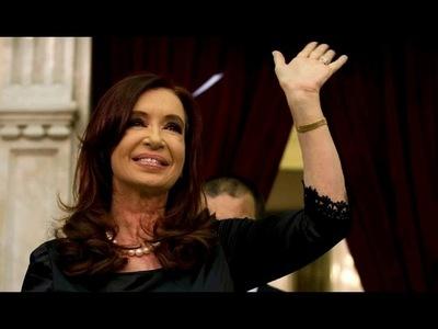 CRISTINA KIRCHNER, CANDIDATA A VICEPRESIDENTA DE ARGENTINA