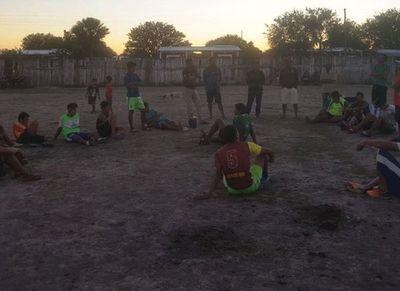 Los futbolistas que ayudarán al Club Sportivo Puerto Diana