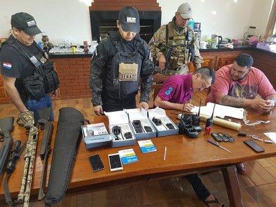 Canindeyú: Allanan estancia en búsqueda de miembro del PCC