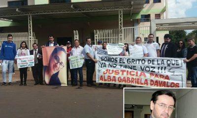 Piden condena ejemplar para acusado por feminicidio