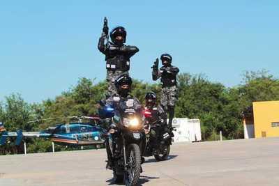 El Grupo Lince tiene nuevos refuerzos para dar seguridad de Asunción y Central