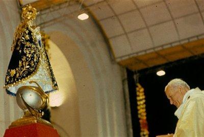Semana de otra recordación histórica, la visita del Papa