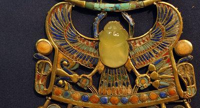 Confirman origen extraterrestre del escarabajo de Tutankamón