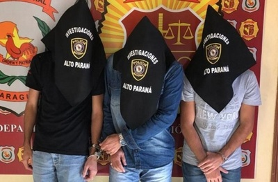 Detienen a integrantes de clan vinculado a Pavão