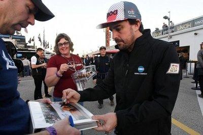 Fernando Alonso queda fuera de las 500 Millas