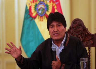 Morales lidera preferencia electoral en Bolivia