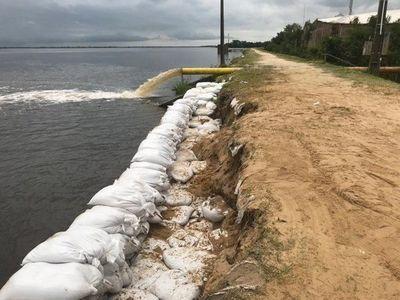 Pilar: Río Paraguay llega a los 8,50 metros de altura