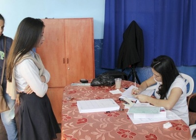 Tramitarán cédulas en tres escuelas de Presidente Franco