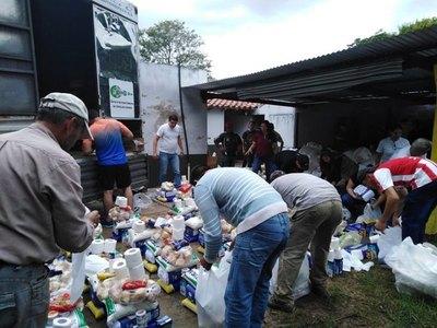 Paraguay muestra solidaridad con las familias afectadas por inundaciones