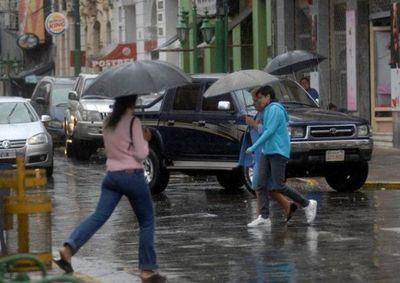 Continua alerta de lluvias hasta el miércoles