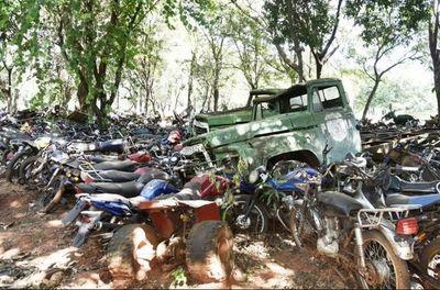 Robaron motocicleta de una comisaría de Ñemby