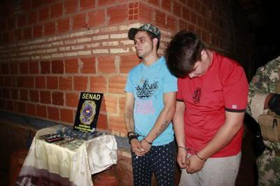 Detienen a microtraficantes que distribuían marihuana en Caacupé