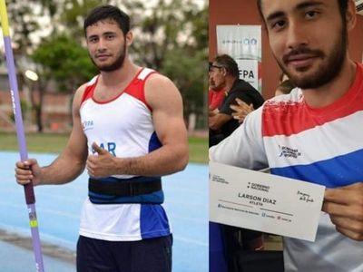 El atleta roseño Larson Giovani Diaz representará al Paraguay en Lima, Perú