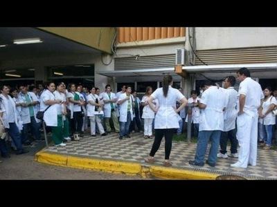 Médicos anuncian huelga si se veta la ley de jubilación