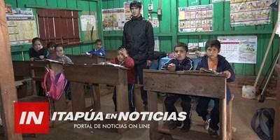 MEC CUBRIÓ 5.000 DE LAS 8.000 HORAS CÁTEDRAS FALTANTES EN ITAPÚA.