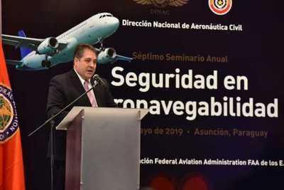 Paraguay busca elevar sus estándares en materia de seguridad en aviación