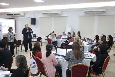 TSJE e IDEA Internacional realizan taller sobre tecnología y elecciones
