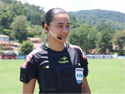Una mujer volverá a pitar un partido del Brasileirão 14 años después