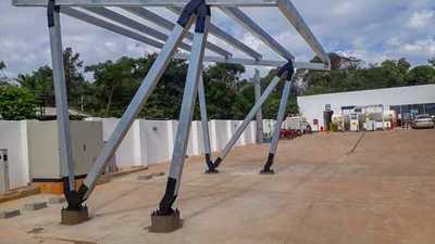 Avanzan construcción de futuras estaciones de la Ruta Verde en Oviedo y Caaguazú