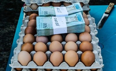 Hiperinflación: Un huevo cuesta lo mismo que 93,3 millones de litros de gasolina en Venezuela