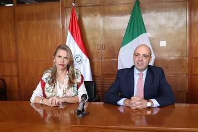 Empresarios italianos exploran la posibilidad de negocios en Alto Paraná