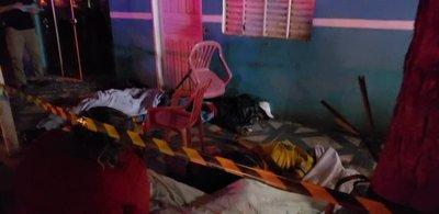 Desconocidos acribillaron a 6 personas en Amambay