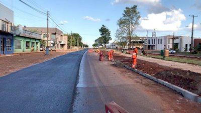 Ruta que une Naranjal con San Cristóbal está casi terminada