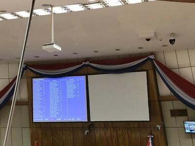 Ratifican desbloqueo de listas y voto electrónico