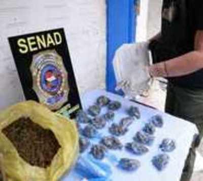 Cae mujer con 103 kilos de marihuana en Pedro Juan Caballero