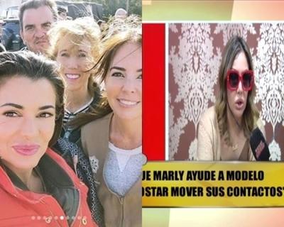"""Ruth Alcaráz rompió relación con la """"Primera Dama"""" y Marly Figueredo"""
