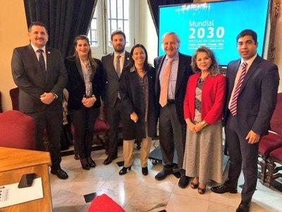 Nueva reunión sobre el Mundial 2030