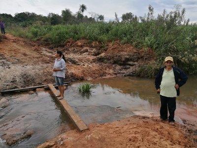 Pobladores urgen construcción de puente en Yasy Cañy