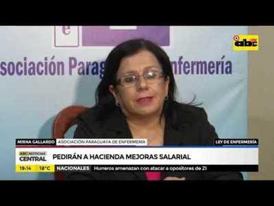 Pedirán a hacienda cumplimiento progresivo de ley de enfermería