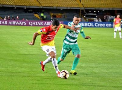 Deportivo Santaní cayó 2 a 0 ante La Equidad