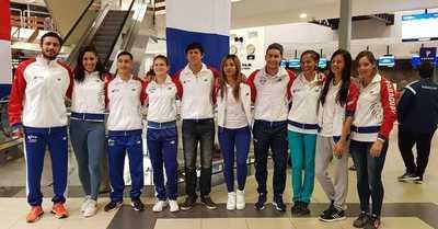 Atletas partieron al Campeonato Sudamericano de Mayores