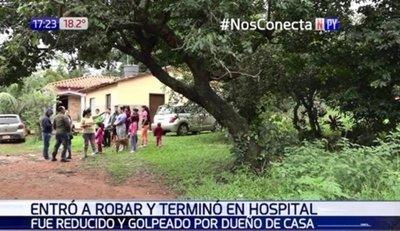 UNA JOVEN REDUJO A GOLPES A LADRÓN Y LO MANDÓ AL HOSPITAL