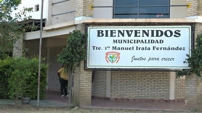 Irala Fernández presentó con atraso rendición de recursos ante Contraloría