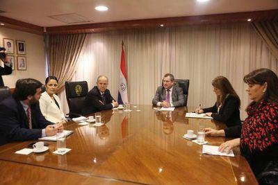 Presidente Jiménez Rolón recibió a exrelator de la ONU
