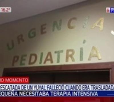Fallece recién nacida abandonada en Choré