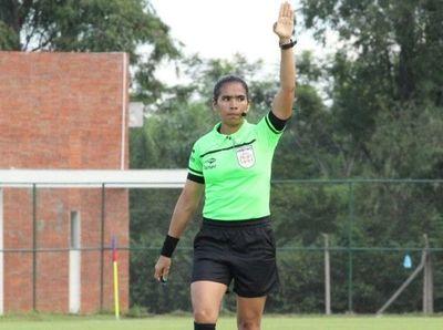 Carmen Gómez arbitrará en la Primera B