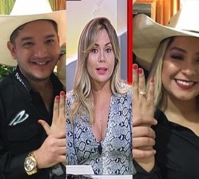 Dahiana rompió el silencio sobre compromiso de Junior y Fátima