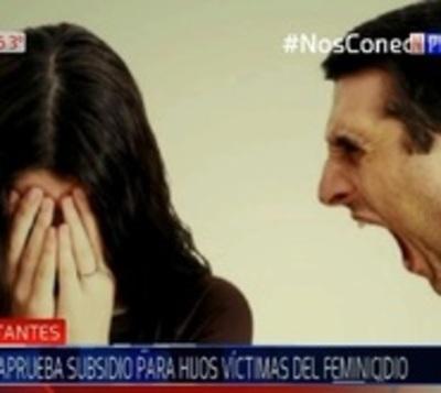 Senado aprueba subsidio para hijos víctimas de feminicidios