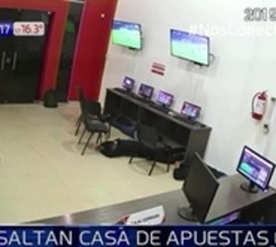 Violento asalto a casa de apuestas en Ciudad del Este