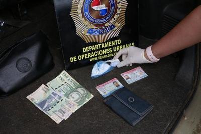 Capturan a distribuidor de cocaína en shopping de Asunción