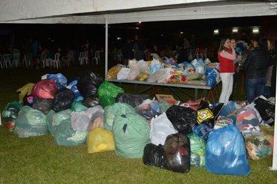 Universitarios llevarán donaciones a Pilar